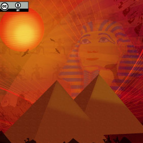 Egyptian Background - Free vector #216835