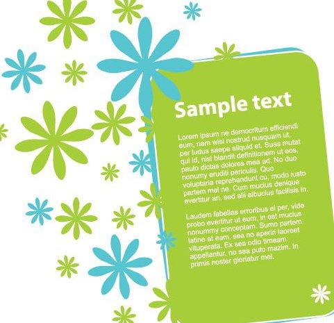 Bannière fleuri - vector gratuit(e) #216865