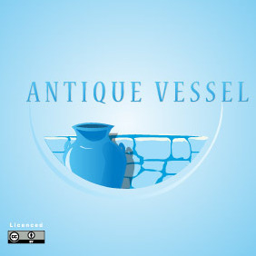 Antique Vessel Logo - Free vector #217005