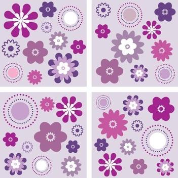 Velvet Flowers - Free vector #217025