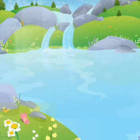 Pure Water Well Spring - vector #217055 gratis