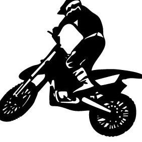 Biker Vector Image 2 - Free vector #217085