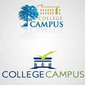 College Logo Pack - vector gratuit #217175