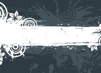 Grunge Frame - vector #217215 gratis