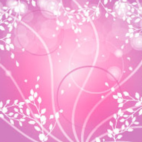 Pink Design Vector Background - Kostenloses vector #217585