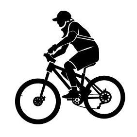 Biker Vector Image - Free vector #217855