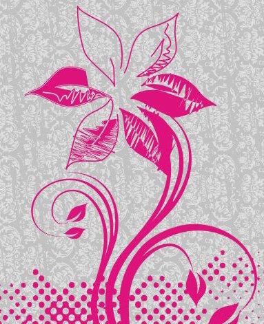 Artsy fleur - vector gratuit #218145
