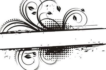 Floral frame - бесплатный vector #218365