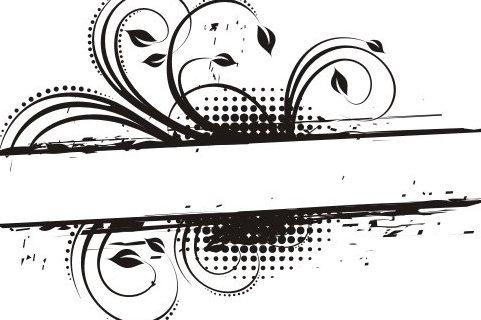 Floral frame - Free vector #218365