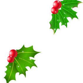 Mistletoe Ilustrator Design - Free vector #218605