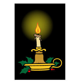 Candle Vector Image - бесплатный vector #218655