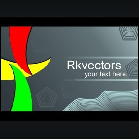 Vector Business Card Designs - vector #218715 gratis