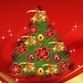 Merry Christmas - Free vector #219435
