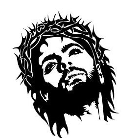 Jesus Christ Face Vector - Free vector #219865