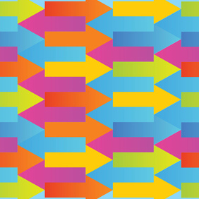 Arrows Pattern - Free vector #219895