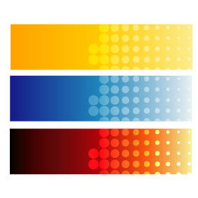 Vector Banners Set - Free vector #220035