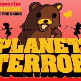 Planet Terror - Free vector #220105