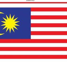 Malaysia Flag - vector #220415 gratis