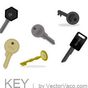 Key Vector - vector gratuit #220445