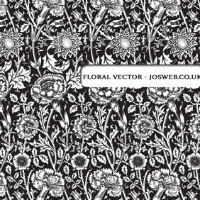 Floral Pattern - Kostenloses vector #220485