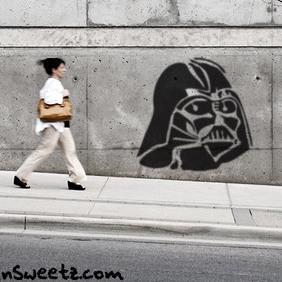 Vader Stencil - Kostenloses vector #220525