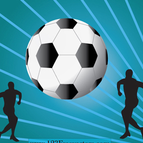 Football Wallpaper - vector gratuit #220715