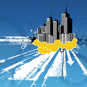 Free Cityscapes Vector Set - Free vector #220755