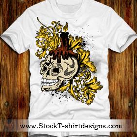 Free Vector T-shirt Designs - Free vector #220765