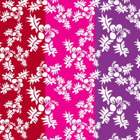Seamless Flower Pattern-6 - vector gratuit #220815