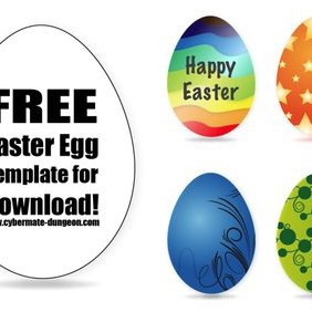 Easter Eggs - Free vector #221485