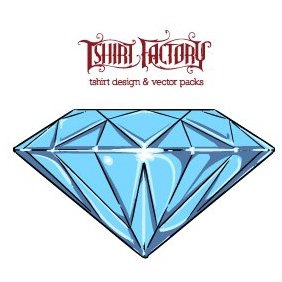 Diamond - vector #221515 gratis