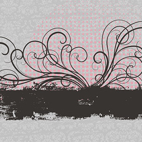Pretty Banner - vector #221965 gratis