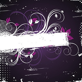 Purple Frame - Free vector #222175