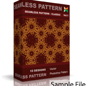 Seamless Pattern - Classic - Free vector #222275