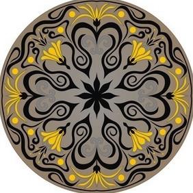 Ornament Vector - бесплатный vector #222285