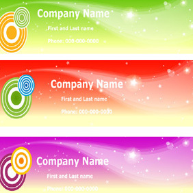 Free Vector Sky Banners - Free vector #222325