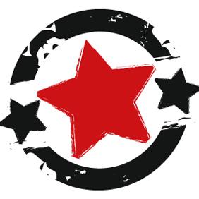 Grunge Star - vector gratuit #222435