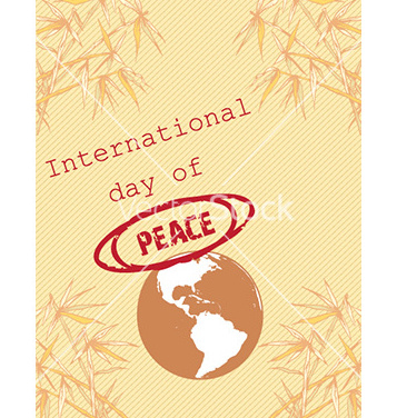 Free international day of peace vector - бесплатный vector #222535