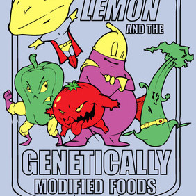 Captain Lemon And The GMO! - Free vector #222965