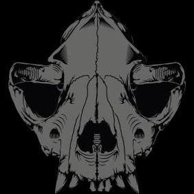 Dog Skull - vector gratuit #223095