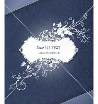 Free floral frame vector - Kostenloses vector #223245