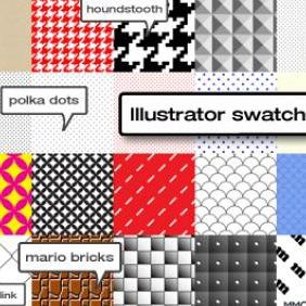 Illustrator Swatches - vector #223365 gratis
