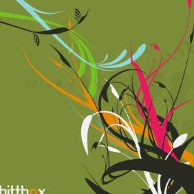 Foliage 2 - vector gratuit #223965