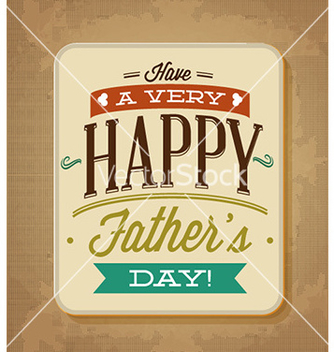 Free fathers day vector - Free vector #224265