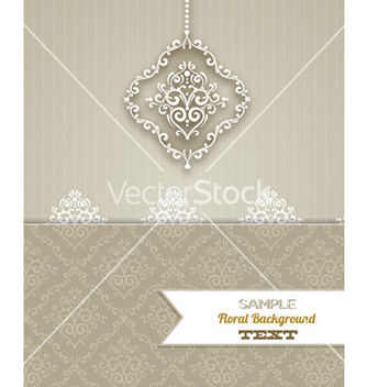 Free floral background vector - Kostenloses vector #224275