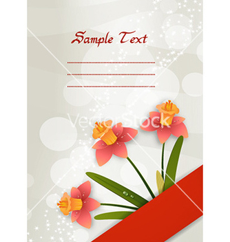 Free spring floral background vector - Free vector #224405