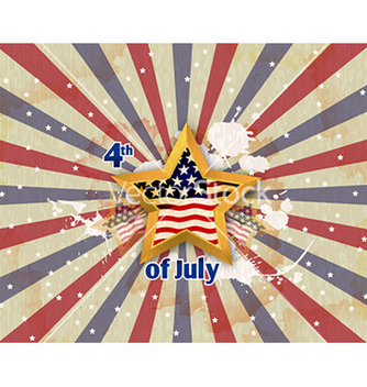 Free 4th of july background vector - Free vector #224635