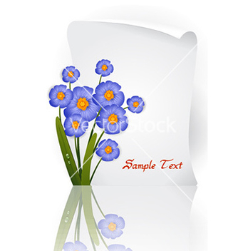 Free floral background vector - Kostenloses vector #224735