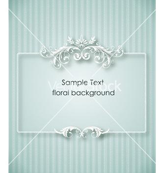 Free floral frame vector - Kostenloses vector #225125