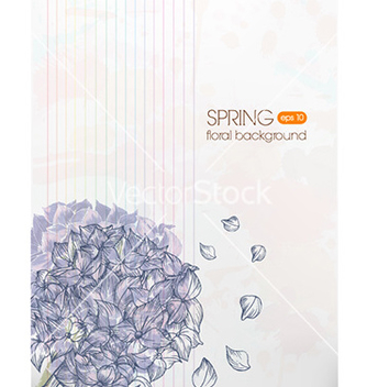 Free floral background vector - Free vector #225495